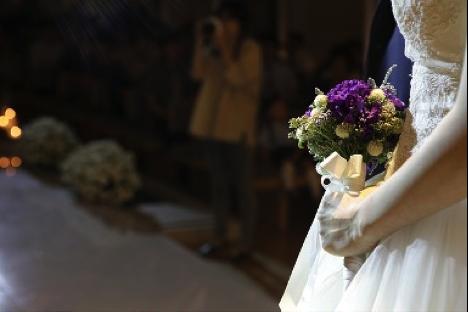 図1 花嫁のブーケ